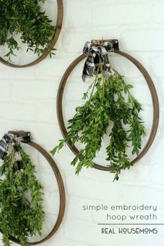 22 Easy yet Creative Embroidery Hoop Art Ideas to Decorate Your Home