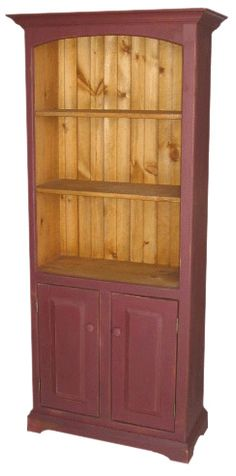 Bookshelves, Bookcase, Country Furniture, Real Wood, Georgian, Wood Crafts, My House, Cottage, House Design