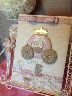Prenses bal kabağı temalı bebek anı defteri, bebek doğum hediyeleri, bebek doğum şekerleri, hastane odası süsleme
