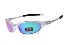 Oakley Juliet Black Silver Frame Rainbow Lens 2008