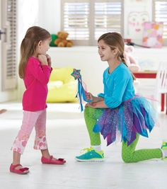 DIY Fairy Costume for Kids // We Made It by Jennifer Garner // Summer Projects for Kids