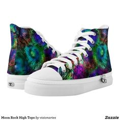 Moon Rock High Tops
