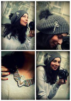 Le titre aurait pu être pourtant tellement simple : c'est le pompon ! Doublement....De la neige ? Un 12 mars ? Seriously ? (oui je regarde trop Grey's anatomy...) ! Bref on en croyait pas ses yeux ... Chapeaux Bonnet Slouchy, Bonnet Rasta, Newborn Crochet Patterns, Owl Hat, Scarf Hat, Beret, Knitted Hats, Knit Crochet, Winter Hats