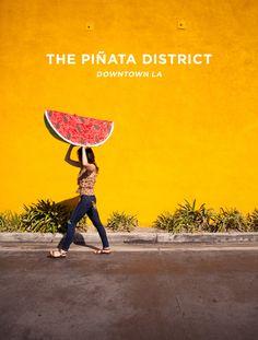the piñata district LA
