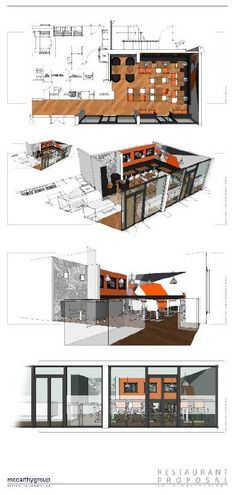 Pizza Joint   3d Illustrations   SketchUp