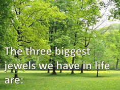 3 Most Important  Concepts in Life