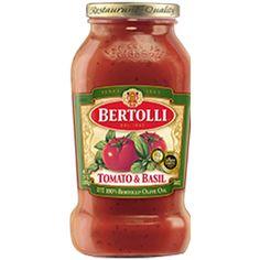 Italian tomato and basil sauce - Bertolli Red Pasta Sauces