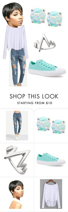 """""""Iridescent Queen"""" by queennicki1019 on Polyvore featuring Giani Bernini and Converse"""