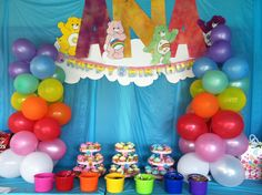 Care Bears Birthday Party Ideas Miss Priss Purple: Care Bears Party {First Birthday} 1600 x 1067 · 210 kB · jpeg Care Bears Birthday Party Ideas Care Bears Party Birthday Party Ideas Care Bear Birthday, Care Bear Party, Care Bears, Party Supplies Australia, 3rd Birthday Parties, 2nd Birthday, Birthday Ideas, Rainbow Parties, Craft Party