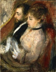 Pierre-Auguste Renoir - The Theatre Box