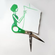 Christoph Niemann Uses Everyday Objects To Create Imaginative Drawings