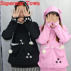 febb712de Cat Lovers Hoodies With Cuddle Pouch Dog Pet Hoodies For Casual Kangaroo  Pullovers With Ears Sweatshirt 4XL Drop Shipping