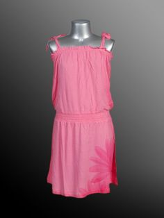 Girls (Junior) - Dress with Straps - Viscose Jersey - Pink - Joshua Perets - Urban Looks, Junior Dresses, Fashion Outfits, Fashion Trends, Teen, Summer Dresses, Clothes For Women, Lady, Casual
