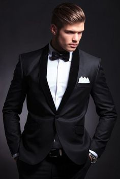 Men Suits, Black Wedding Suit, Tuxedo 2 Piece One Button Slim Fit Groom Wear Suit For Men Listing Include (Coat + Pant) Fabric:- Imported, Premium Dry Clean Only The suit is for wedding, Party, Proms, and Etc Express Shipping to world-wide but Remote Area May Take Longer Little color variation may possible due to photography and lights Mens Wedding Tux, Grey Tuxedo Wedding, Black Suit Wedding, Wedding For Men, Wedding Attire, Best Wedding Suits For Groom, Wedding Suit Styles, Prom Tuxedo, Wedding Ideas