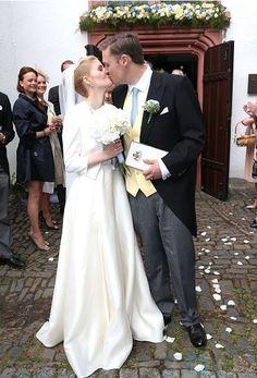 Royal Family Around the World: Wedding Of Prince Maximilian zu Sayn-Wittgenstein-Berleburg And Franziska Balzer on August 6, 2016 in Bad Laasphe, Germany.