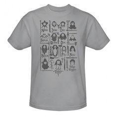 The Hobbit: An Unexpected Journey, official t-shirt design