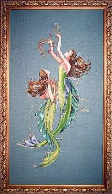 Mermaids of the Deep Blue by Mirabilia - Cross Stitch Kits & Patterns