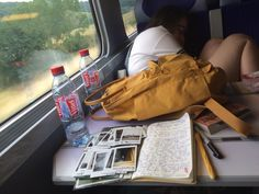 grunge, train, and yellow image Fjallraven, Art Hoe Aesthetic, Aesthetic Grunge, Most Beautiful Images, Mein Style, Study Inspiration, Studyblr, Train Rides, Mellow Yellow