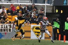 Troy Polamalu Photos - Troy Polamalu #43 of the Pittsburgh Steelers intercepts a pass against the Cleveland Browns during their game at Heinz Field on December 30, 2012 in Pittsburgh, Pennsylvania. - Cleveland Browns v Pittsburgh Steelers