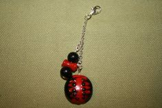 Ladybug Charm by AngelsHeavenlyDesign on Etsy,