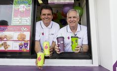 Drive-through coffee chain Muzz Buzz has joined forces with drink seller Java Juice to combat tough times by offering both their products at outlets.