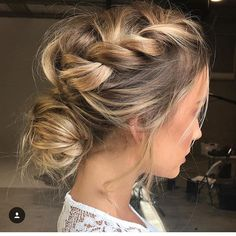 "5,853 Likes, 44 Comments - #MODERNSALON (@modernsalon) on Instagram: ""Effortless and undone Mohawk braid by @emmachenartistry Great idea for spring!!!"""
