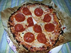 The BEST Keto Pizza EVER…. Seriously. It's...