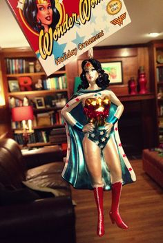 Wonder Woman Ornament at Target