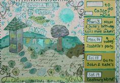 By V. Careford-White for art journal comp @CreateMixedMedia