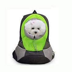 Freedi Pet Carrier Pet Travel Backpack for Dogs and Cats Pet front Carrier Bag Mesh Backpack Carrier Head Out Design with Pockets Soft Cushion for Car Bike Bicycle Hiking * Read more  at the image link.