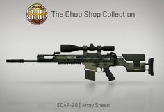 Counter-Strike Global Offensive: The Chop Shop Collection: SCAR-20 Army Sheen