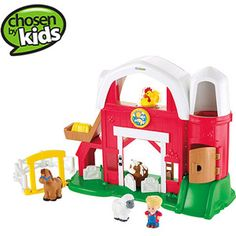 Fisher-Price Little People Fun Sounds Farm Play Set  | http://hq.lbox.com/r/34?cid=sbo.530.5336.1990 #sharethejoywmt