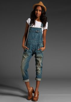 overalls for women | Denim Overalls – Is This a Trend You'd Try? — Denim Debutante