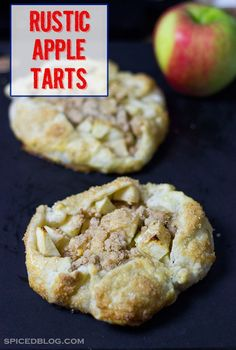 These Rustic Apple Tarts are a fun, unique twist on the classic apple pie.