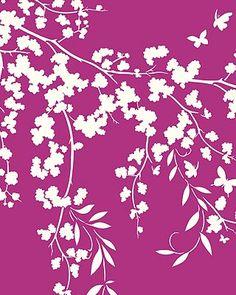 Blossom Stencils Flower Silhouettes Stencil