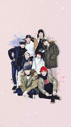 Miss you oppa 💋💋😇😇😍😍 Baekhyun Chanyeol, Baekhyun Fanart, Chen, Exo Anime, Exo Group, Exo Album, Exo Official, Exo Fan Art, Exo Lockscreen
