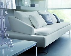 Modern Sofa - Plush and romantic, the Itaca Sofa from Bontempi is a lush and luxurious piece of furniture that has an adjustable modular modern sofa design that . Modular Couch, Scandinavian Sofas, Modern Sofa Designs, 3 Seater Sofa, Fabric Sofa, Seat Cushions, Love Seat, Armchair, Interior Decorating