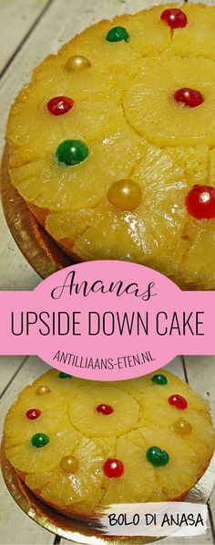 bolo di anasa pineapple upside down cake