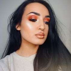 """989 Likes, 14 Comments - Georgia Bartley (@georgia.bartley) on Instagram: """"Hello new friends  Here I'm using the @morphebrushes 35B palette with @topshop shuffle the cards…"""""""
