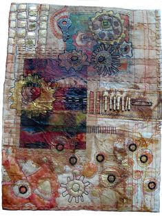 createcreatively:    Teabags in artwork by Jane LaFazio