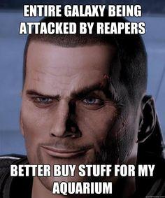 Mass Effect priorities.