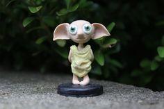 Cute Polymer Dobby by BeneathABridge on Etsy https://www.etsy.com/listing/220971741/cute-polymer-dobby