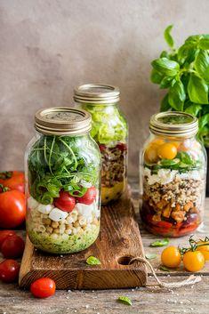 Cucumber, Mason Jars, Recipies, Lunch Box, Tofu, Recipes, Salads, Diet, Mason Jar