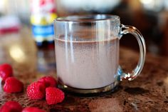 Pioneer Woman's Hot Chocolate - Warm two cups each milk and half-n-half on low. Whisk in 1 cup chocolate chips.