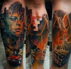 by @drazpalaming . #best #tattooartist #tattoosupport #tattooworldpub #tattoo #like4like #likeforfollow #follow4follow #followbackalways #follow4followback