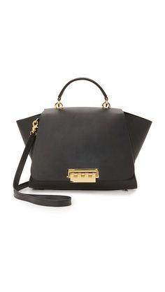 ee2cc914a3a ZAC Zac Posen Eartha Soft Top Handle Bag Structured Handbags