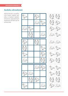 Sudoku obrazkowe - http://www.ekokalendarz.pl/pakiet-edukacyjny-na-swiatowy-dzien-ziemi/