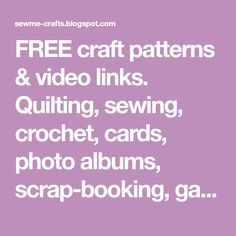 FREE craft patterns & video links. Quilting, sewing, crochet, cards, photo albums, scrap-booking, gardening, recipes. Bubble Crochet Stitch, Bobble Crochet, Crochet Baby Blanket Free Pattern, Bobble Stitch, Single Crochet Stitch, Afghan Crochet Patterns, Knitting Patterns, Crochet Afghans, Yarn Store