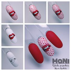 Simple Nail Designs, Gel Nail Designs, Infinity Nails, Lip Wallpaper, Dot Nail Art, Winter Nails, Nail Arts, Pink Nails, Dots