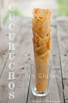 Receta: Cucuruchos, barquillos y tulipas sin gluten